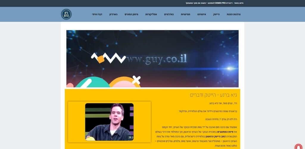 אתר תדמית, Fly Guy