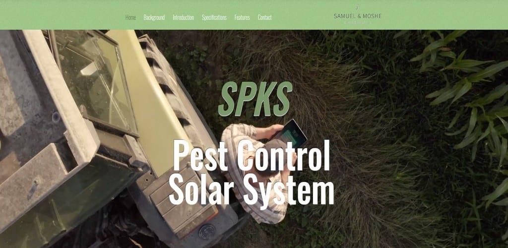SPKS – Pest Control Solar Syatem
