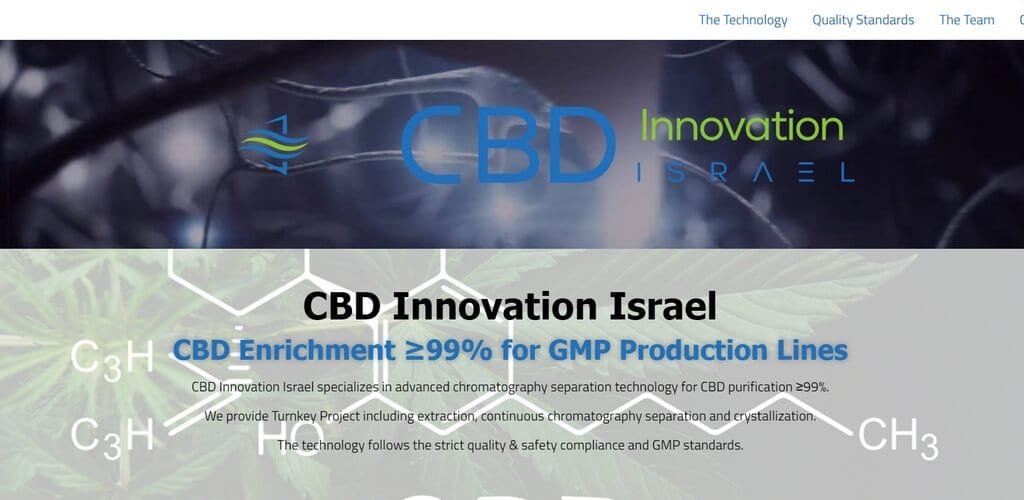 CBD Innovation Israel